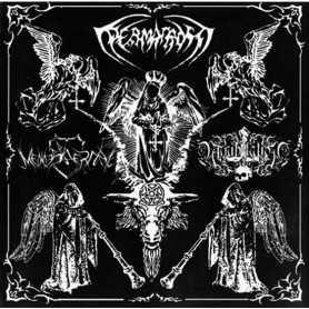 PERMAFROST / MENNESKERHAT / ANNIHILATION 666 - Split S/T