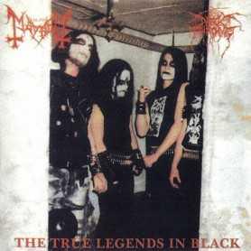 DARKTHRONE / MAYHEM - The True Legends in Black