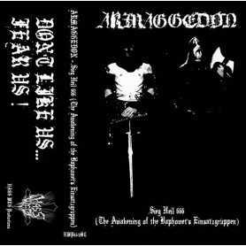 ARMAGGEDON - S.H. 666 (The Awakening of the Baphomet's Einsatzgruppen) . MC