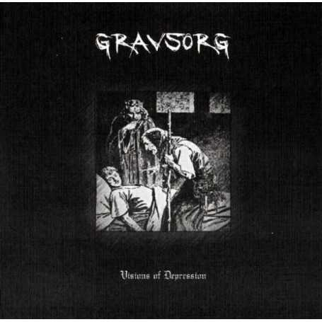 GRAVSORG - Visions of Depression . CD