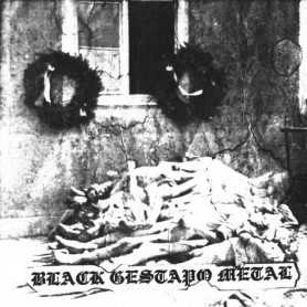 GESTAPO 666 - Black Gestapo Metal cd