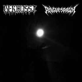 VERMISST / PLAGUESPAWN - Lunar Emanations of Haunted Shrines . CD