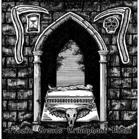 NOCTURNAL WEREWOLF / NECROSTRIGIS - Frozen Graves Triumphant Blaze . CD