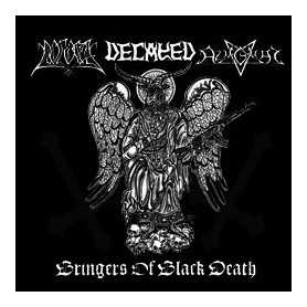 POGOST / AZAGHAL / DECAYED - Bringers of Black Death . CD