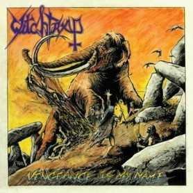WITCHTRAP - Vengeance Is My Name . CD