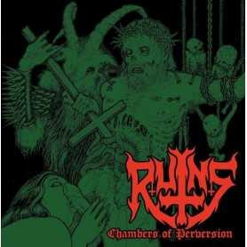 RUINS - Chambers of Perversion . CD