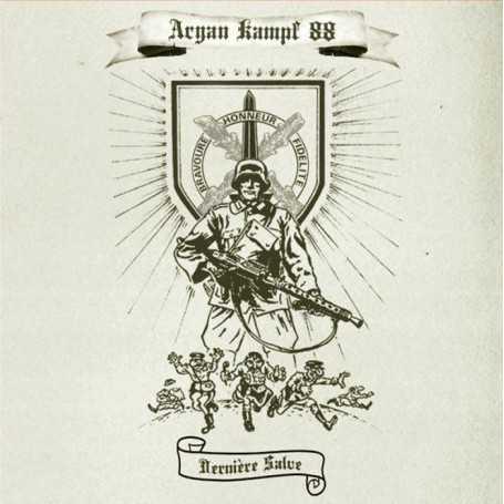 ARYAN KAMPF 88 - Dernière Salve . CD