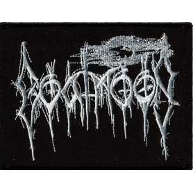 GOATMOON - Logo Blanc . PATCH