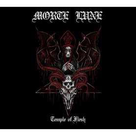 MORTE LUNE - Temple of Flesh . CD