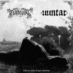 EVILFEAST / UUNTAR - Odes to Lands of Past Traditions . CD