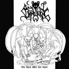 BESTIAL SUMMONING - The Dark War Has Begun . LP