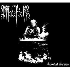 MALEFICA - Sabbath of Darkness . CD