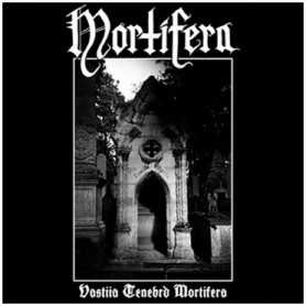 MORTIFERA - Vastiia Tenebrd Mortifera . CD