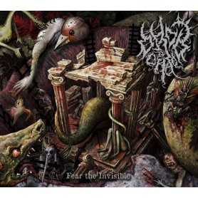 ORDO AD CHAO - Fear The Invisible cd