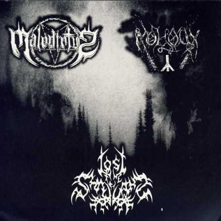 MALEDICTVS / MOLOCH / LOST IN THE SHADOWS - Split  S/T . CD
