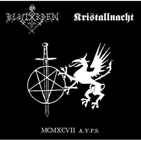 BLUTORDEN / KRISTALLNACHT lp
