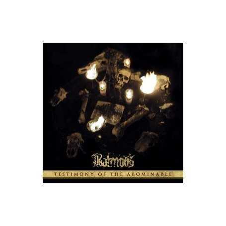 BALMOG - Testimony of the Abominable . CD