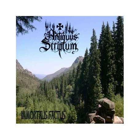 ANTIQUUS SCRIPTUM - Immortalis Factus . CD