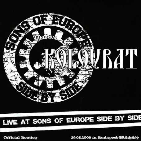 KOLOVRAT - Live at Sons of Europe Side by Side . CD