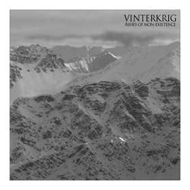 VINTERKRIG - Ashes of Non-Existence . CD