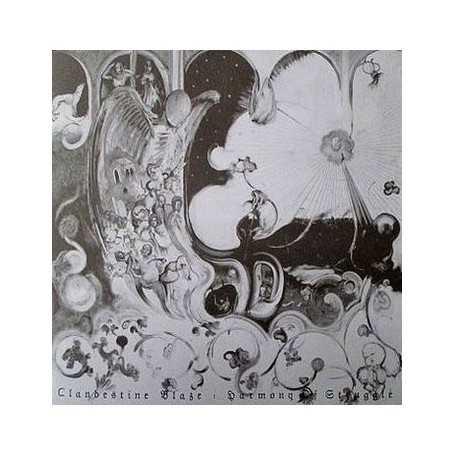 CLANDESTINE BLAZE - Harmony Of Struggle . CD