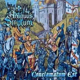 ANTIQUUS SCRIPTUM - Conclamatum Est . CD