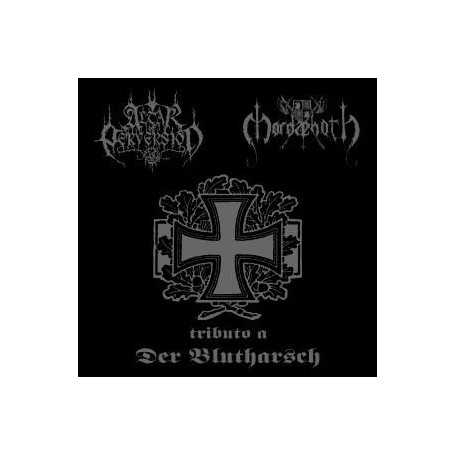 ALTAR OF PERVERSION / MORDAEHOTH - Tributo a Der Blutharsch . CD