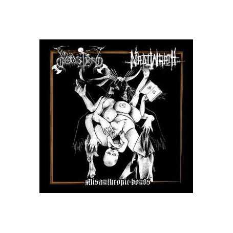 DODSFERD / NADIWRATH - Misanthropic Bonds . CD