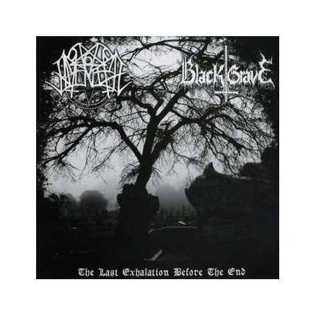 NOCTURNAL AMENTIA / BLACK GRAVE - The Last Exhalation Before the End . CD