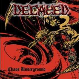 DECAYED - Chaos Underground . CD