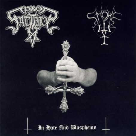 PROSATANOS / SMOKE - In Hate And Blasphemy . CD