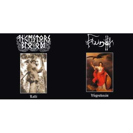 HUNOK / ANCESTORS BLOOD - Split S/T . CD