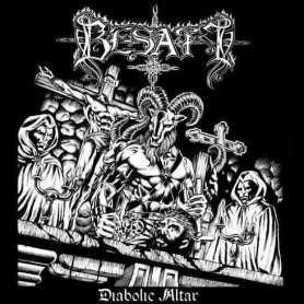 BESATT - Diabolic Altar . CD