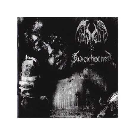 HAK-ED DAMM / BLACKHORNED - Execrated . CD