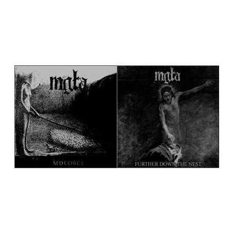 MGLA - Mdłości / Further Down The Nest . CD