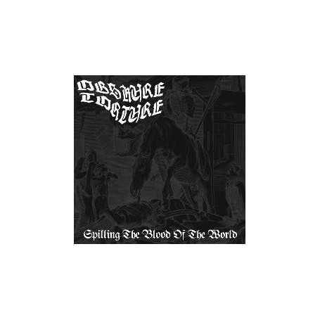 OBSKURE TORTURE - Spilling The Blood Of The World . CD