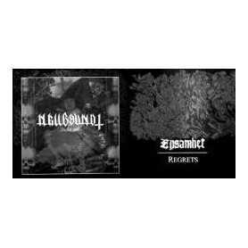 HELLBOUND / ENSAMHET - Bullet 666 / Regrets . LP