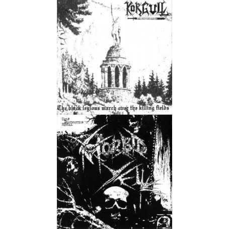 KORGULL THE EXTERMINATOR / MORBID YELL - S/T . CD