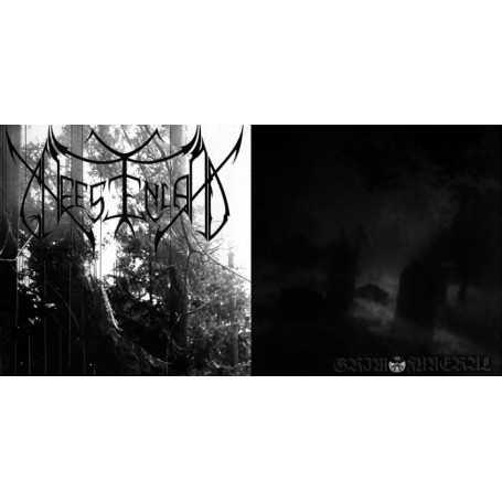 GHEESTENLAND / GRIM FUNERAL - Split S/T . CD