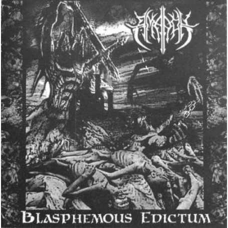 AMAROK - Blasphemous Edictum . CD