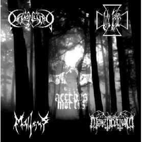 DAEMONLORD / LUX FERRE / MALLEUS / MORTINATUM - Acerbus Mortis . CD