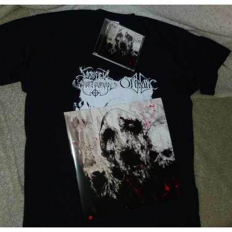 SACRIFICIA MORTUORUM / ORTHANC - Pack LP + CD + Tee Shirt