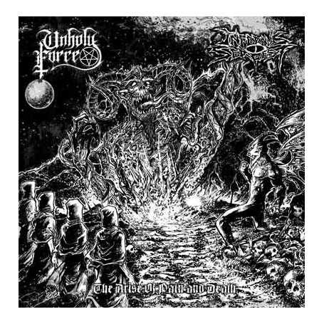 INFERNUS SERPEST / UNHOLY FORCE - The Arise of Pain and Death . CD