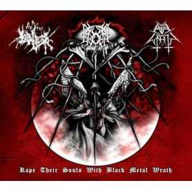 EVIL WRATH/THE TRUE ENDLESS/GROMM - Rape Their Souls..