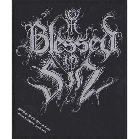 BLESSED IN SIN - Logo . PATCH