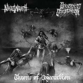 NADIWRATH / PRETEEN DEATHFUK - Throne Of Desecration