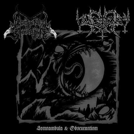 NOCTURNAL AMENTIA / UNDERDARK - Somnambula & Obscurantism . CD