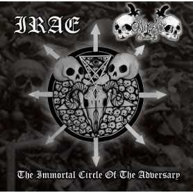 IRAE / BLACK COMMAND - The Immortal Circle of the Adversary
