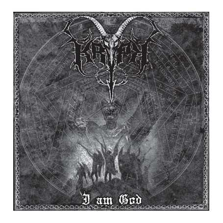 KRYPT - I am God . CD