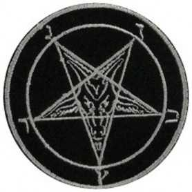 PENTAGRAM - Embroidered white